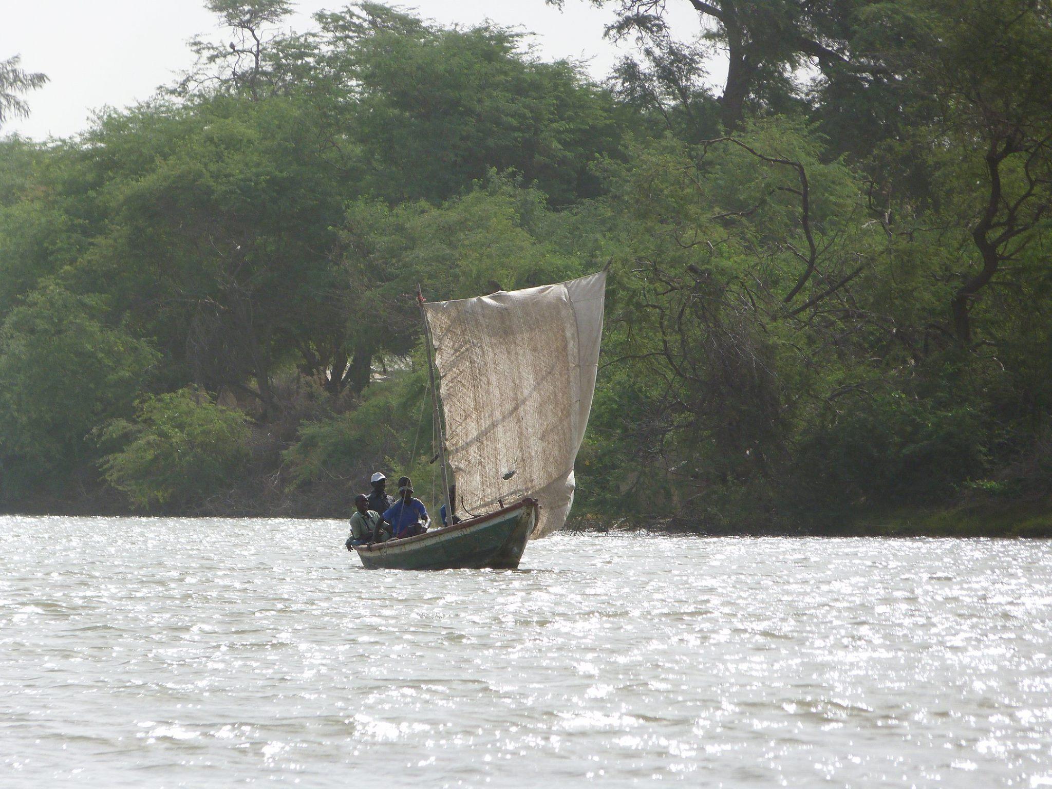 Pirogue à voile Bango Saint-Louis Sénéga